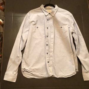 Lucky brand chambray button down